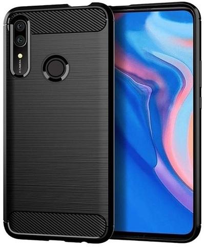Чехол для Huawei P Smart Z (Y9 Prime 2019, Enjoy10 Plus, 9X Premium) цвет Black (черный), серия Carbon от Caseport
