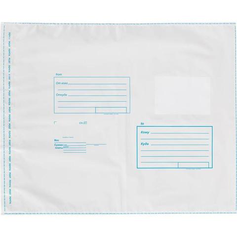 Пакет Amerplast 320x355 мм Куда-Кому из полиэтилена 70 мкм стрип
