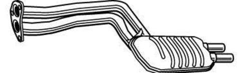 глушитель BMW 320i , 325i /Xi E46 00- , 325 Ti COMPAKT E46 01- , 330i/Xi E46 00