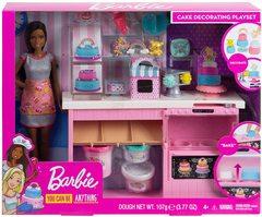 Кукла Барби Брюнетка Кондитерский магазин