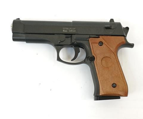 Страйкбольный пистолет Stalker SA92M Spring (Beretta 92)