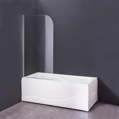 Шторка на ванну Agger 80х140 стекло прозрачное A02 080TCR фото