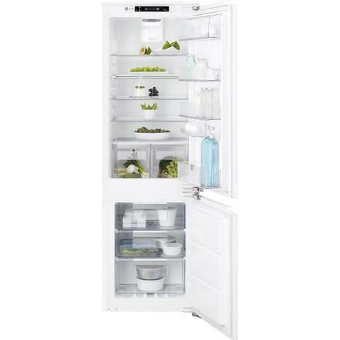 Встраиваемый двухкамерный холодильник Electrolux ENC2854AOW