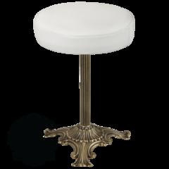 Пуфик для ванной комнаты Migliore Mirella ML.MRL-50.106 H45 cm; D30 cm