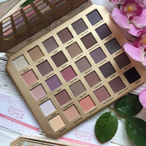 Тени для век Too Faced Natural Love  EYE SHADOW COLLECTION