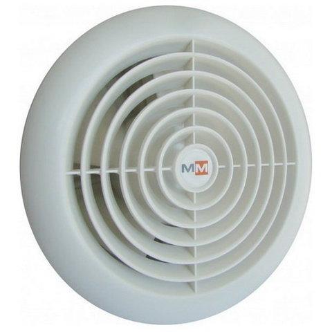 Накладной вентилятор MMotors JSC MM-S 120 с обратным клапаном (для бань и саун)