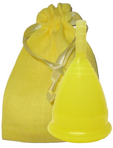 Менструальная чаша CupLee S, Желтая