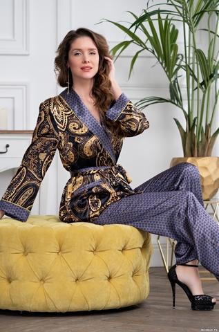 Шелковая пижама двойка Mia Amore Armani Gold (70% нат. шелк)