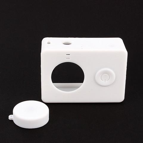 Силиконовый чехол для Xiaomi Yi (белый)