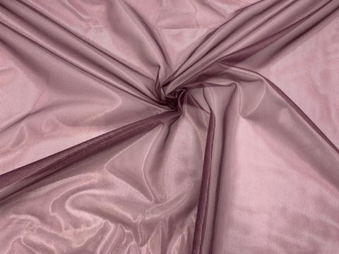 Сетка корсетная фиолетово-сливовая мягкая 20*35 см
