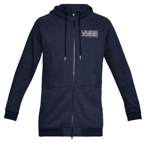 Толстовка Under Armour Baseline Fleece Full Zip Hoodie 1317446-410