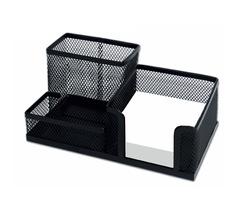 Подставка-органайзер, металлическая, 3 секции, 102х186х95 мм, черная