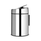 Ведро для мусора с крышкой SLIDE (5л), артикул 477560, производитель - Brabantia, фото 4