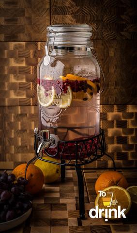 Диспенсер для напитков на подставке «Cold Drink», 3.5 литра
