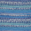 Пряжа YarnArt Crazy Color 98 (Голубой,лазурь,белый)