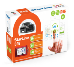 Автосигнализация StarLine D96 BT 2CAN+2LIN GSM-GPS