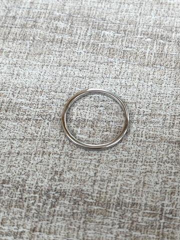 Кольцо Симпл, серебро