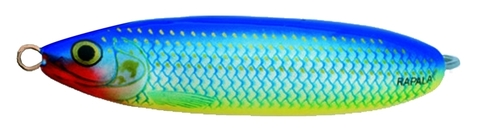 Блесна RAPALA Minnow Spoon 08 /RBPU