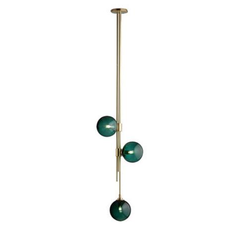 Потолочный светильник Trilogy by Articolo Lighting (зеленый)