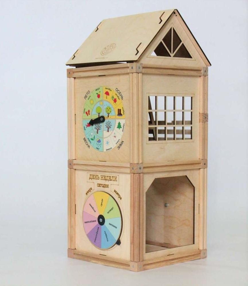 Woodjo Clock Tower 55 деталей