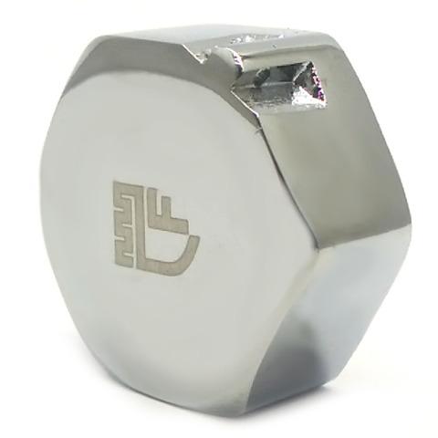 Заглушка SD Forte  латунная хромированная  3/4 в