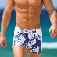 Мужские плавательные шорты Aussiebum синие Beach Shorts 60s Breeze