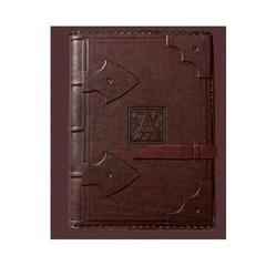 Ежедневник кожаный в стиле 19 века модель 19