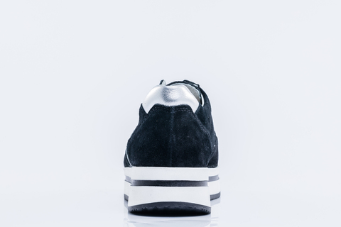 Кроссовки на платформе черные Котофей (ТРК ГагаринПарк)