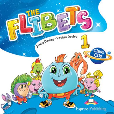 Flibets 1. Class CDs (set of 2). Аудио CD для работы в классе (2 шт.)