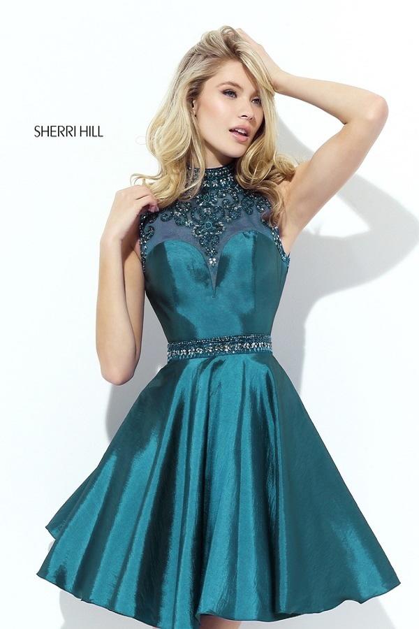 Sherri Hill Изящное, романтичное, нежное и воздушное платье с пышной юбкой