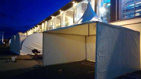 Аренда шатров пагода 5х5