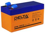 Аккумулятор Delta DTM 12012 ( 12V 1,2Ah / 12В 1,2Ач ) - фотография