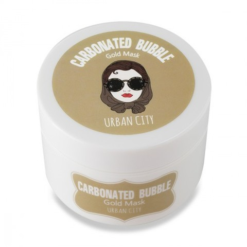 Baviphat Urban City Carbonated Bubble Gold Mask