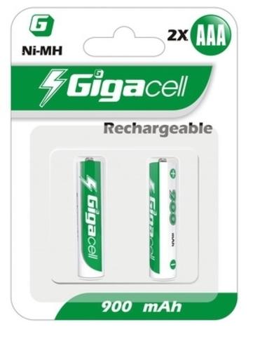 Батарейка аккумуляторная Gigacell HR03 900mAh (2шт)