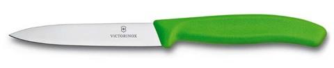 Нож для овощей SwissClassic 10 см зелёный VICTORINOX 6.7706.L114