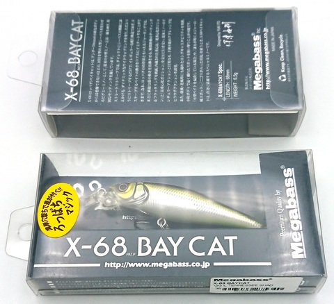 Воблер Megabass X-68 Bay Cat / GG Il Tennessee Shad