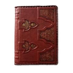 Ежедневник кожаный в стиле 19 века модель 16