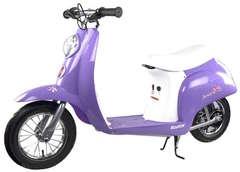 Электромотоцикл Razor Pocket Mod Betty сиреневый