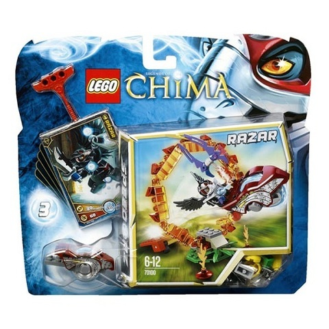 LEGO Chima: Кольцо Огня 70100 — Ring of Fire — Лего Чима