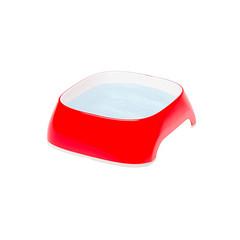 Пластиковая миска, Ferplast GLAM EXTRA SMALL, красная 0,2 л