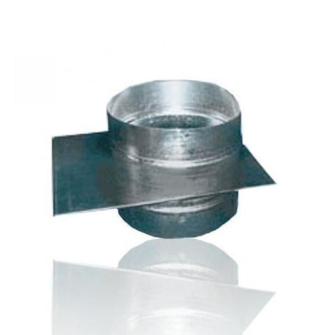 Шибер D 200 оцинкованная сталь
