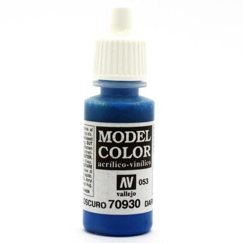 Model Color Dark Blue 17 ml.