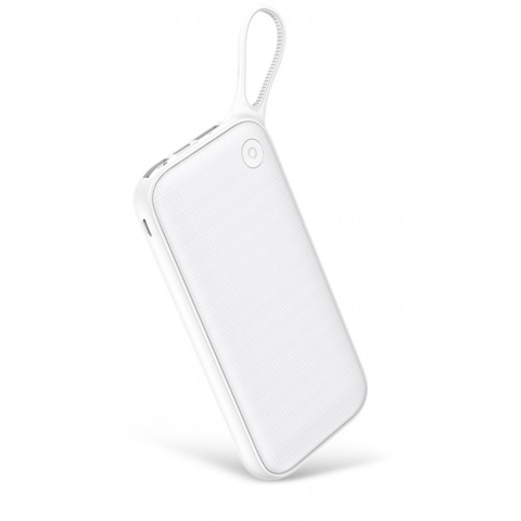 Аккумулятор Baseus Powerful PD Dual Input Power Bank 20000mAh White