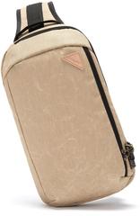 Рюкзак однолямочный  Pacsafe Vibe 325 sling, горчичный, 10 л.