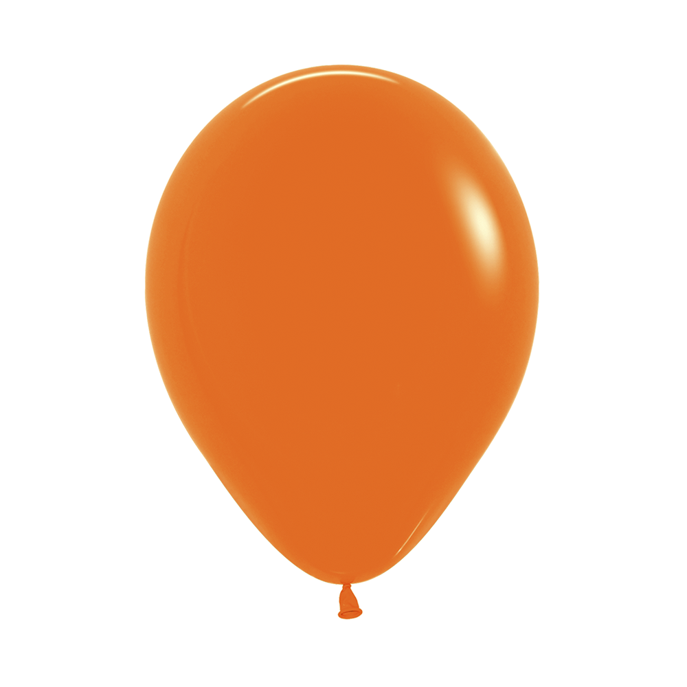 Латексный воздушный шар, цвет оранжевый пастель