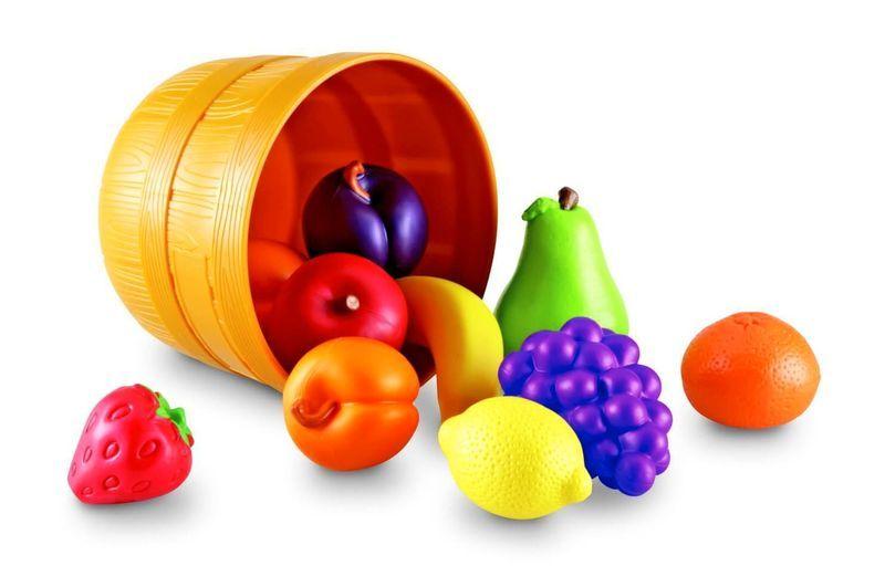 """игровой набор """"фрукты в ведерке"""""""