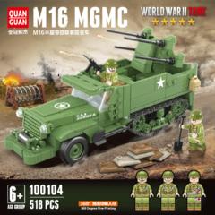 Конструктор Техника Второй Мировой войны Американская зенитная самоходная установка M16
