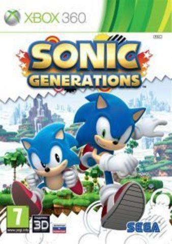 Sonic Generations (Xbox 360, английская версия)