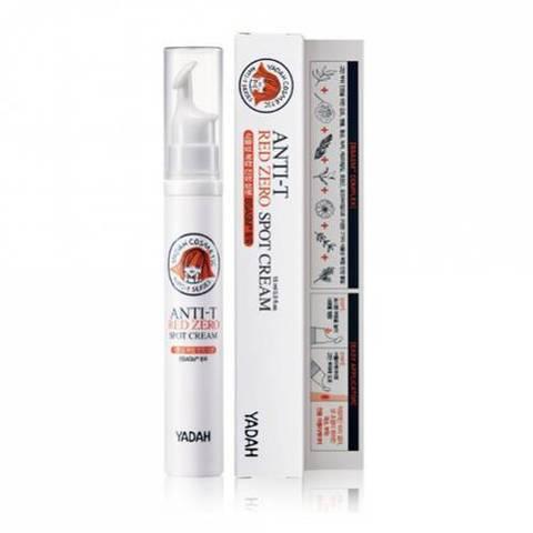 YADAH ANTI-T RED ZERO SPOT CREAM точечный крем для проблемной кожи