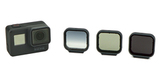 Набор фильтров PolarPro Venture 3-Pack HERO 5/6/7 Black с камерой